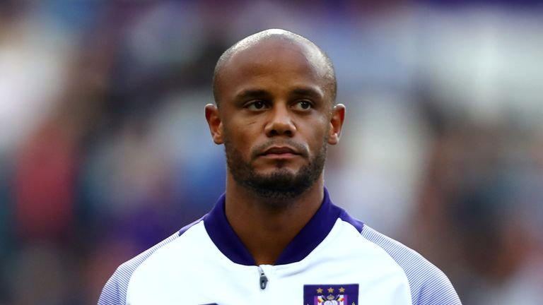 Vincent Kompany will now captain Anderlecht on match days
