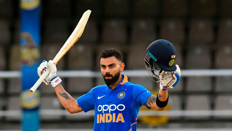 Virat Kohli S Hundred Led India To A Six Wicket Dls Win