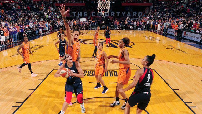Phoenix Mercury v Washington Mystics in the WNBA