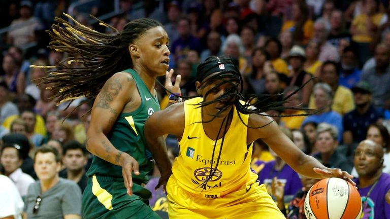 Los Angeles Sparks v Seattle Storm in the WNBA