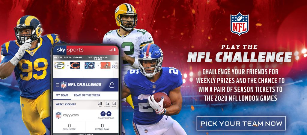 Play the NFL Challenge!