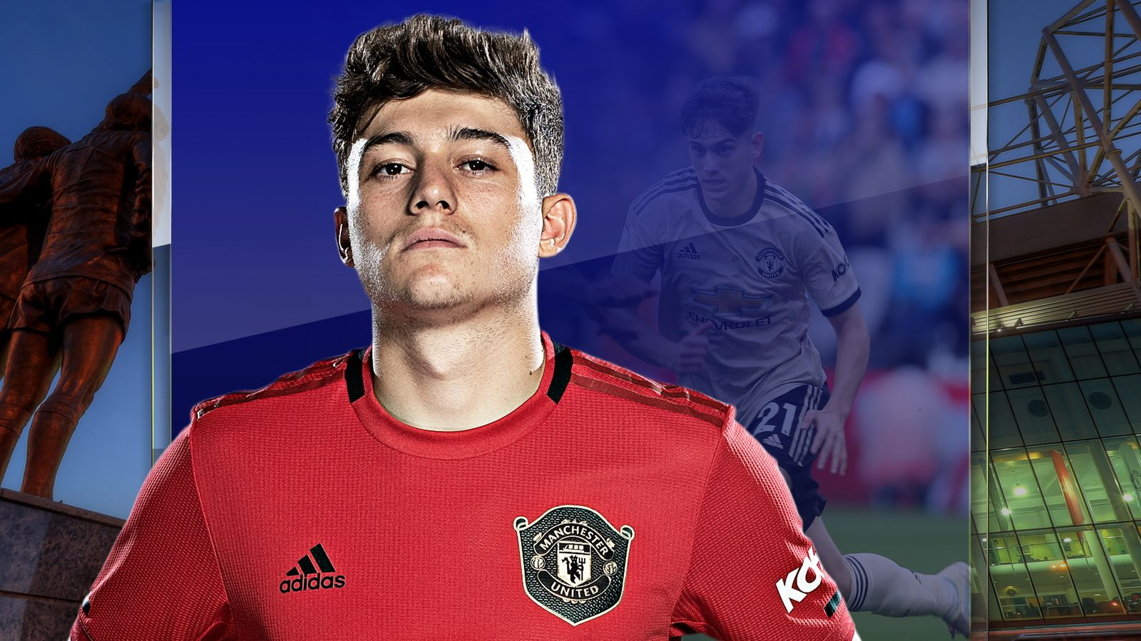 Daniel James is carrying Manchester United's attack at the