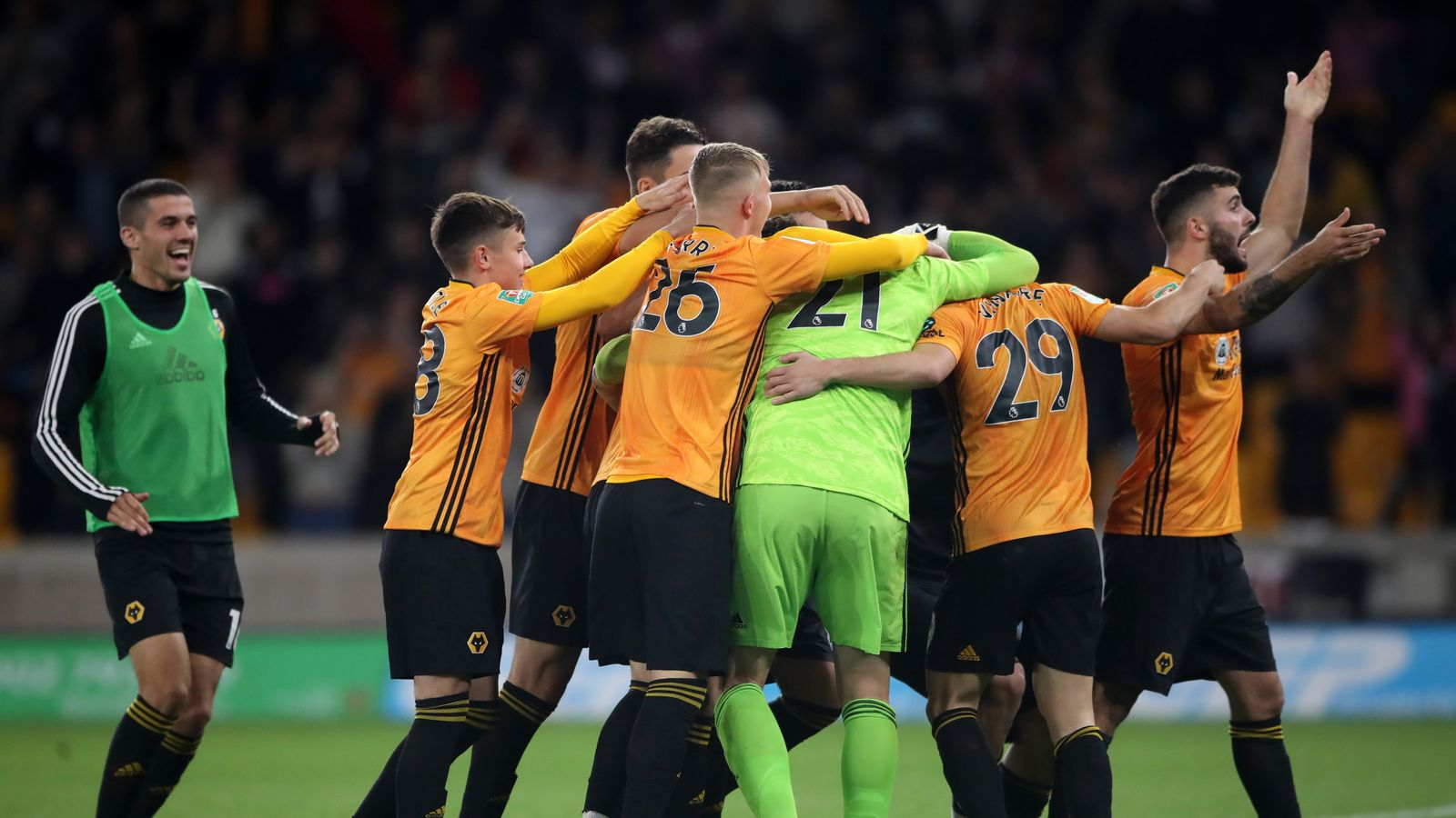 Wolves 1-1 Reading (4-2 on pens): Royals denied Carabao Cup upset on penalties