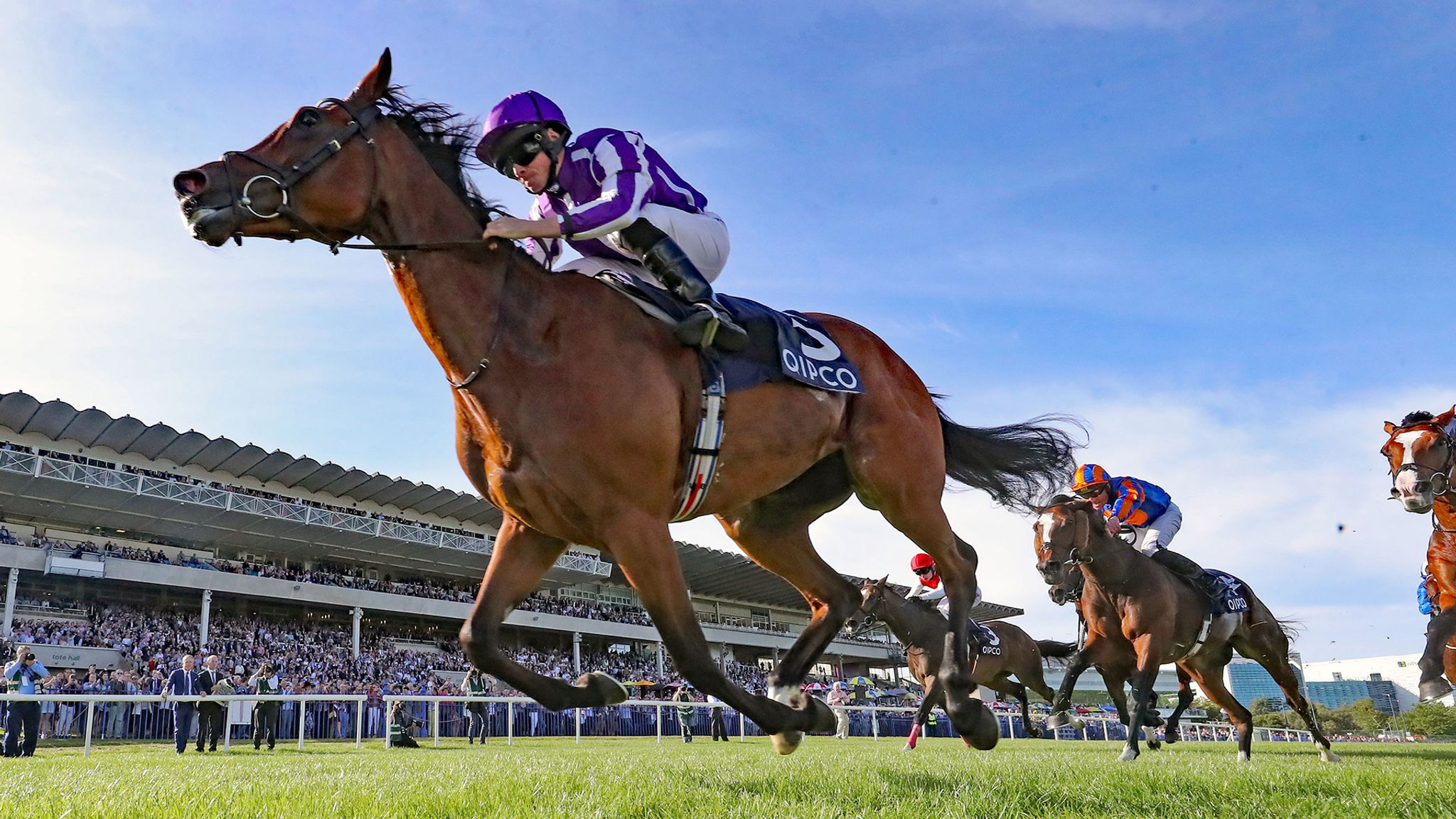 Magical tops nine for Champion Stakes