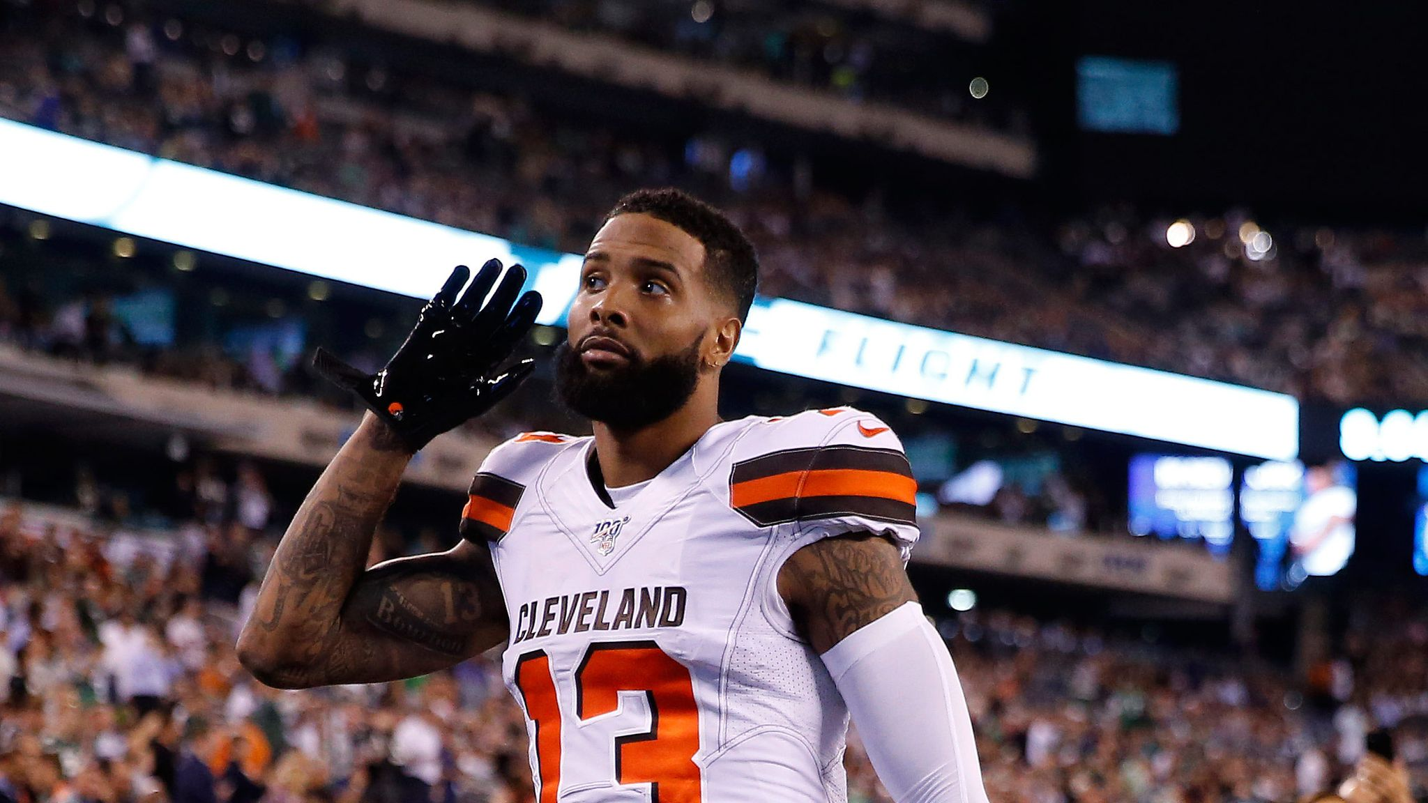 Odell Beckham Jr Scores Career Long Touchdown As Cleveland