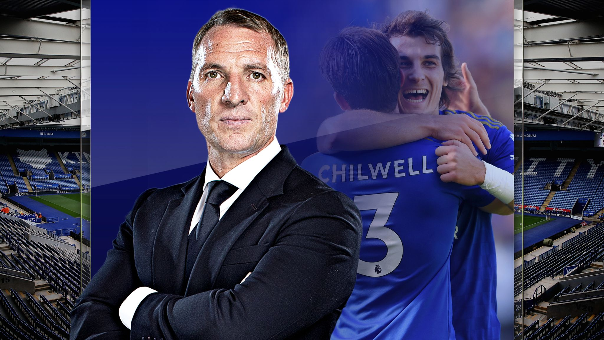 A Team Into brendan rodgers has transformed leicester city into a top