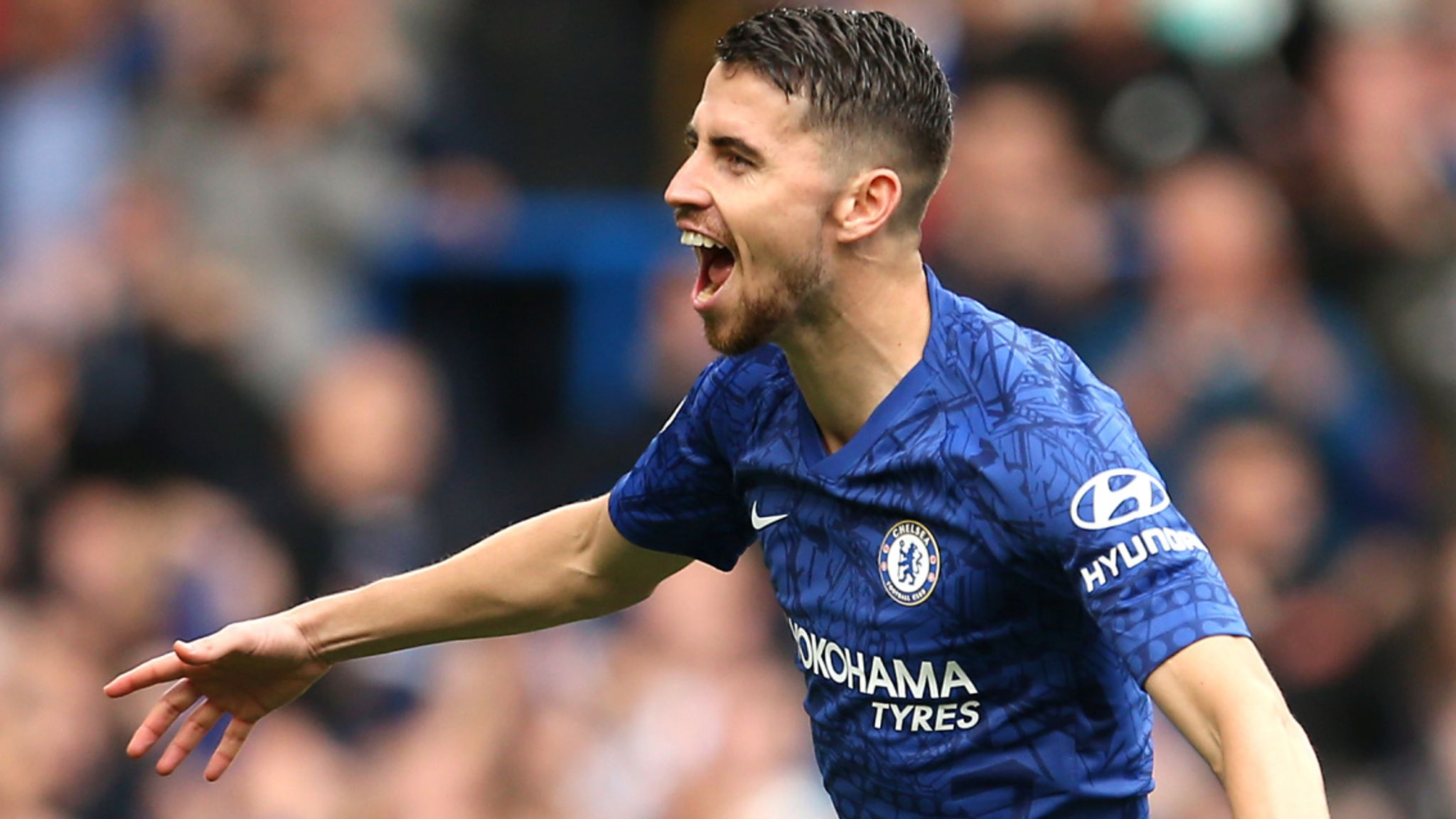 Jorginho assist for Chelsea against Watford named Gillette Precision Play of the Month
