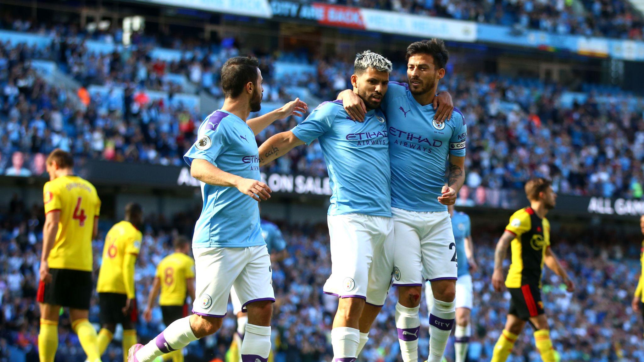 Man City 8 - 0 Watford - Match Report & Highlights