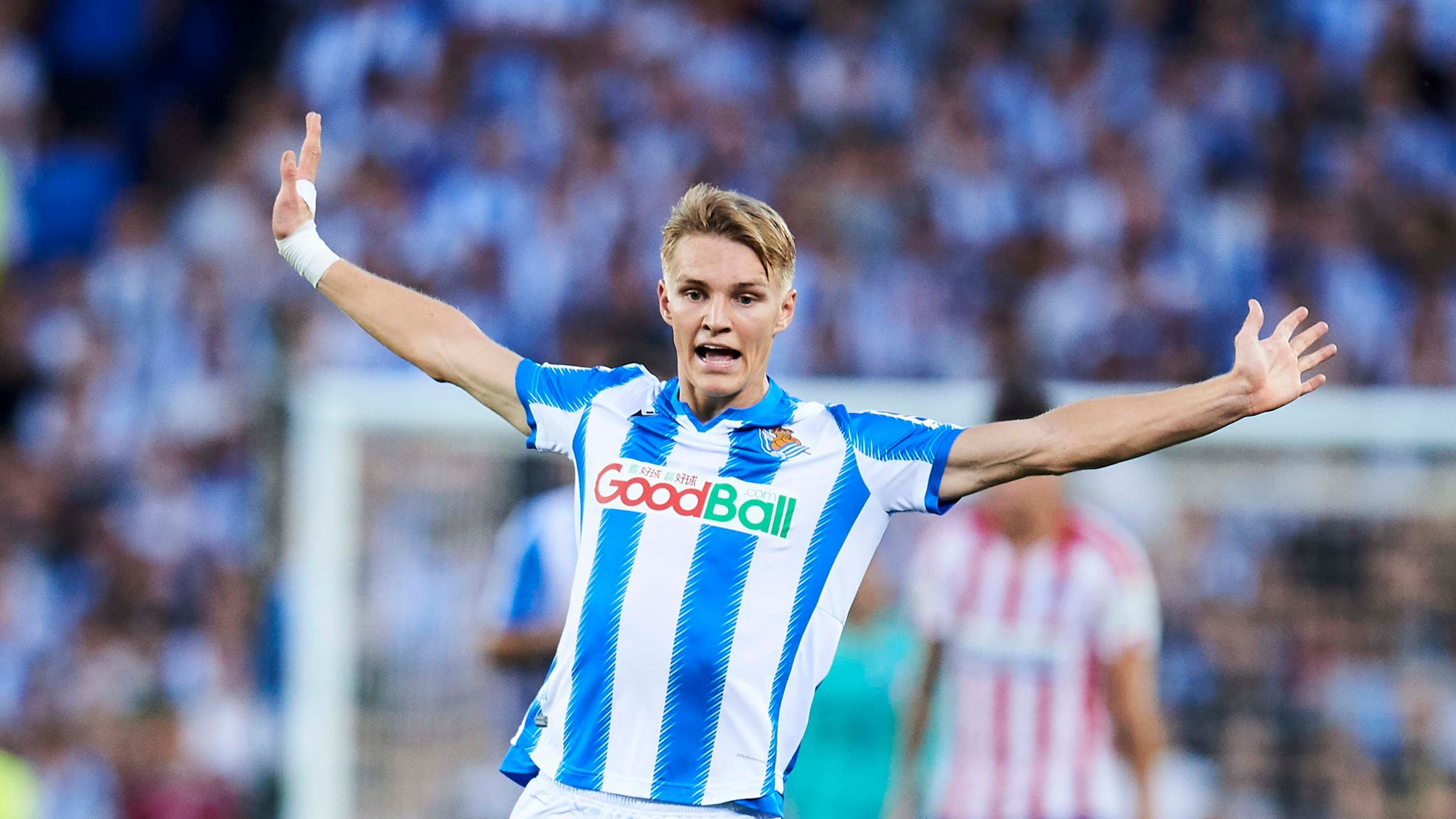 Martin Odegaard back in the spotlight at Real Sociedad on third loan spell away from Real Madrid