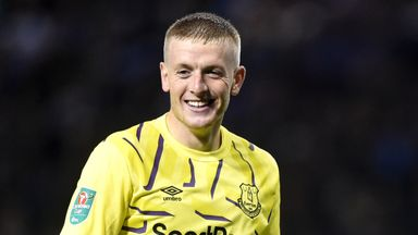 fifa live scores - Everton's Jordan Pickford insists he is calmer on the pitch this season after Marco Silva advice