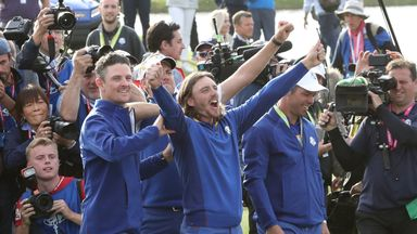 Justin Rose, Tommy Fleetwood and Paul Casey all featured in the 2018 Ryder Cup