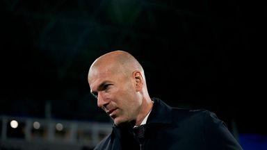 Zinedine Zidane's side were beaten 3-0 by Paris Saint-Germain