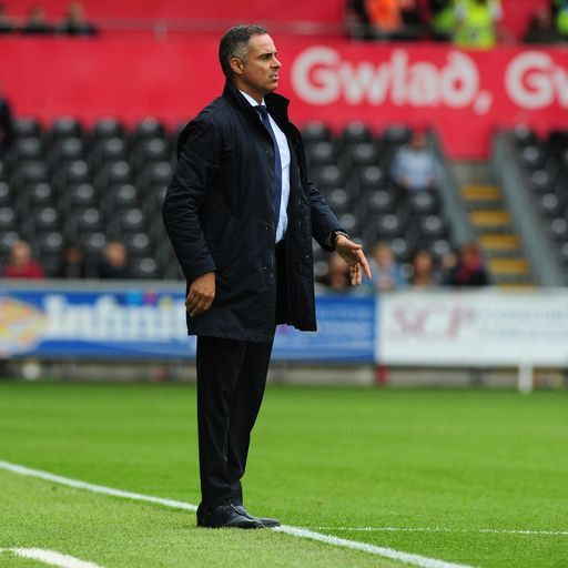 Reading sack manager Jose Gomes