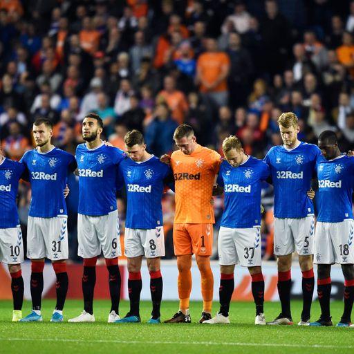 Rangers' fitting tribute to Ricksen