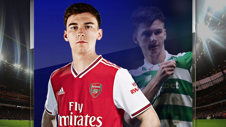 Kieran Tierney has moved from Celtic to Arsenal