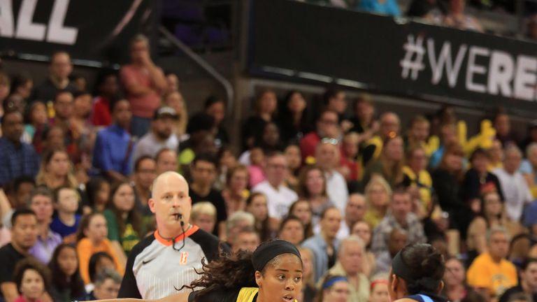 Jordin  Canada  teases the Atlanta defense