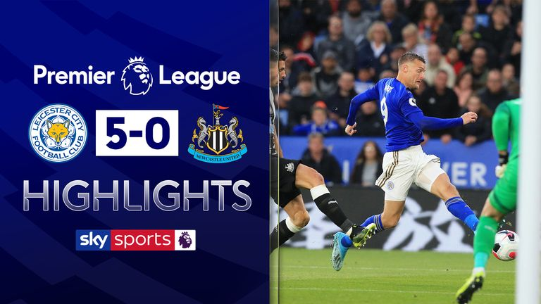 Leicester City 5-0 Newcastle United