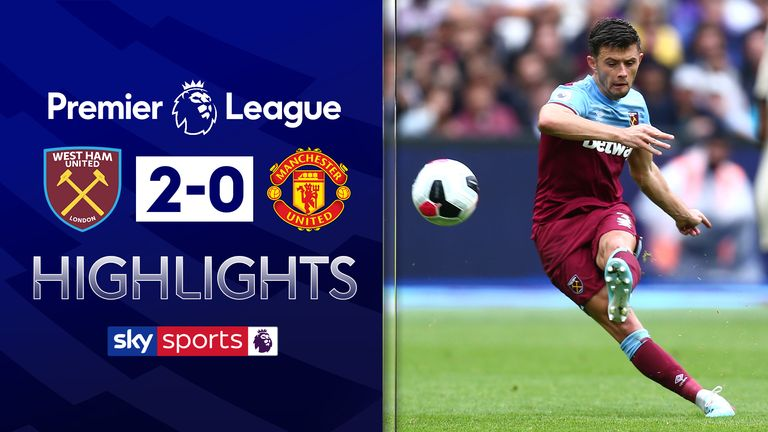 FREE TO WATCH: Highlights from West Ham's 2-0 win over Manchester United