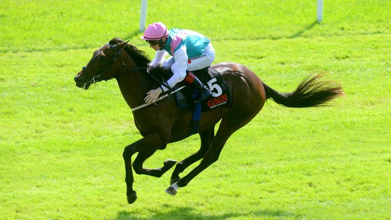 Siskin in winning action at the Curragh
