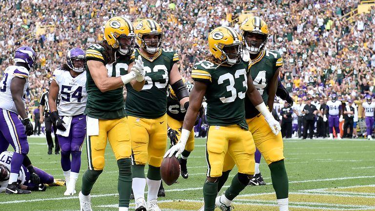 Aaron Jones, Green Bay Packers