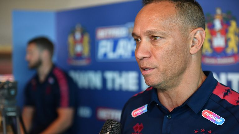 Super League play-offs: Wigan head coach Adrian Lam relishing 'biggest derby in rugby league'