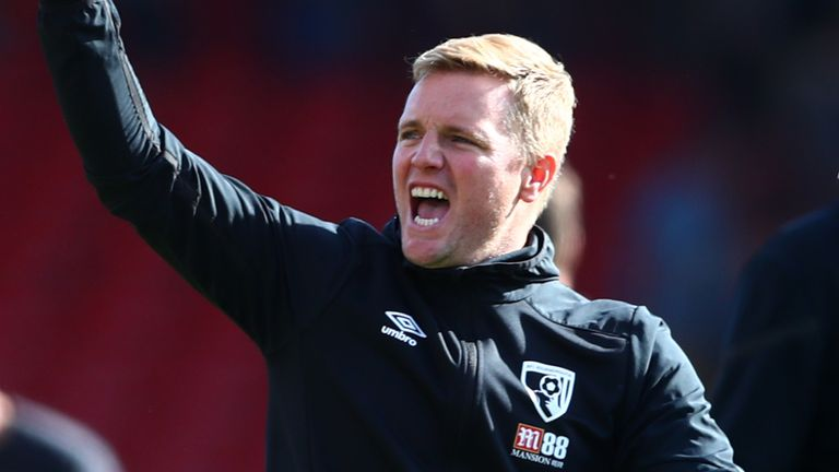 AFC Bournemouth's Eddie Howe wants his side to continue their fine start to the season