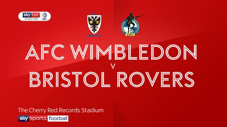 AFC Wimbledon 1-3 Bristol Rovers: Pirates fightback in convincing win