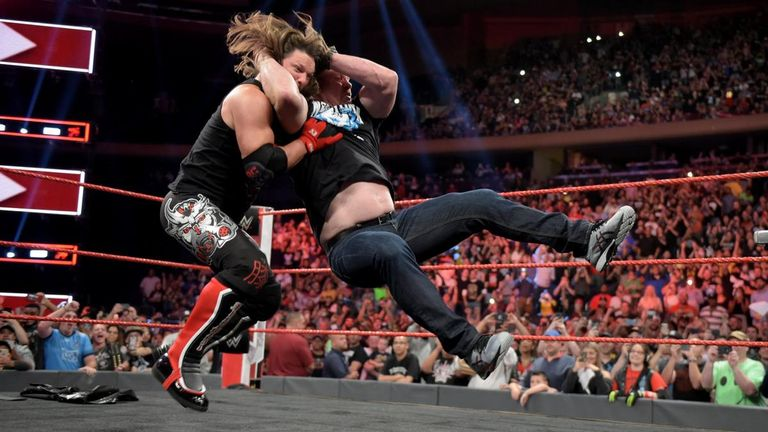 'Stone Cold' Steve Austin returns to give a Stunner to AJ Styles on Raw