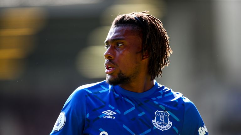 Alex Iwobi has revealed all about his last-minute move to Everton