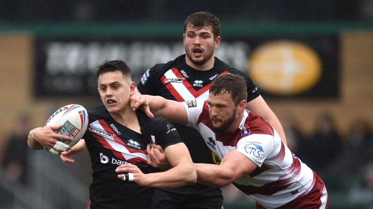 Alex Walker is one of London Broncos' homegrown talents