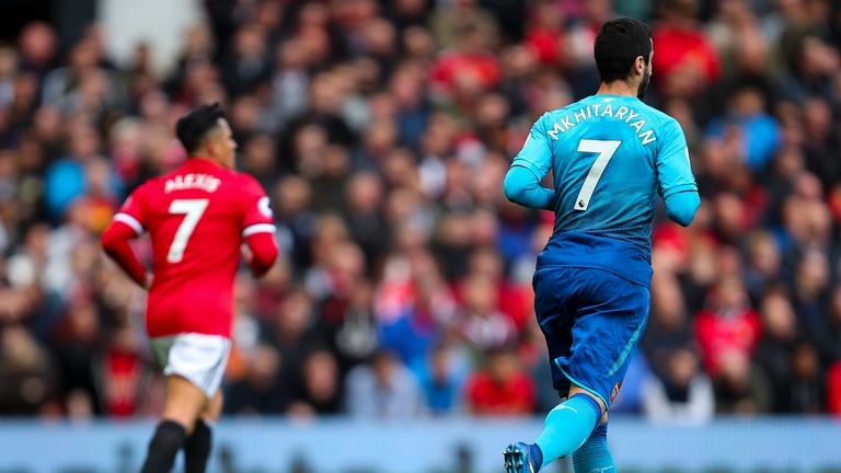 Both Alexis Sanchez and Mkhitaryan have temporarily ended their spells in the Premier League with moves to Serie A