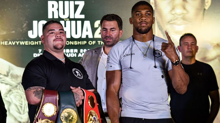 Ruiz Jr faces Joshua in rematch on December 7, live on Sky Sports Box Office