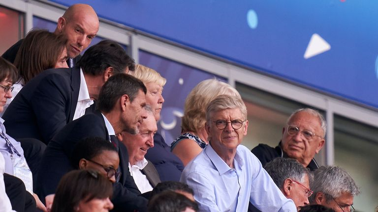 Arsene Wenger has refused to rule out the prospect of taking over at Bayern Munich