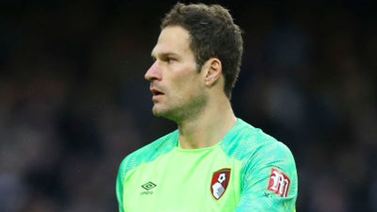 Begovic has featured 62 times in all competitions across two seasons with the Cherries