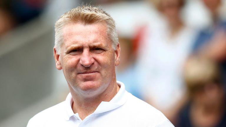 Aston Villa boss Dean Smith studied Arsenal's Unai Emery for his Pro Licence