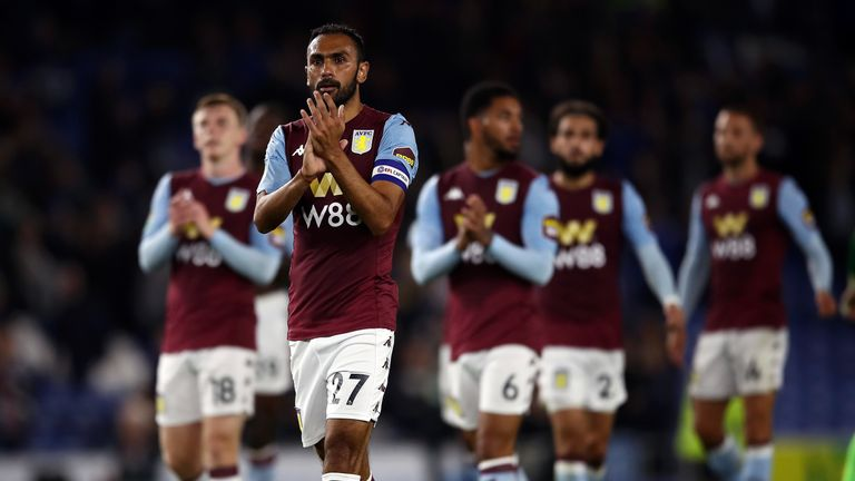 Aston Villa are currently third from bottom having won one of their opening six league games