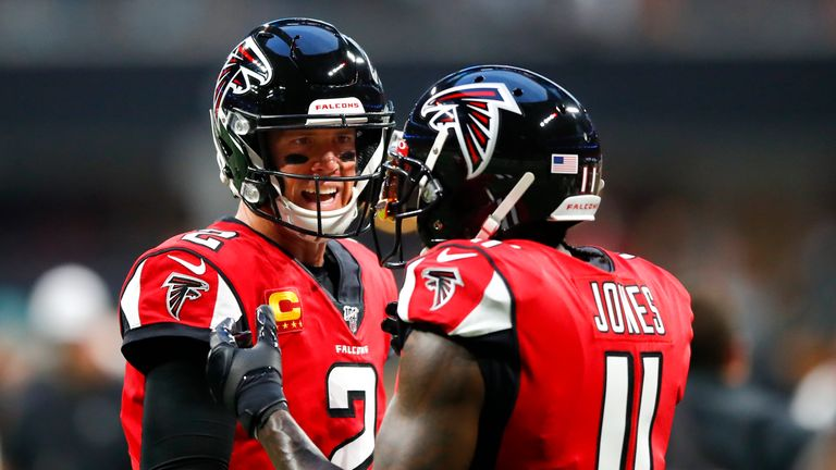 Mat Ryan and Julio Jones combined to give Atlanta their first victory of the NFL season