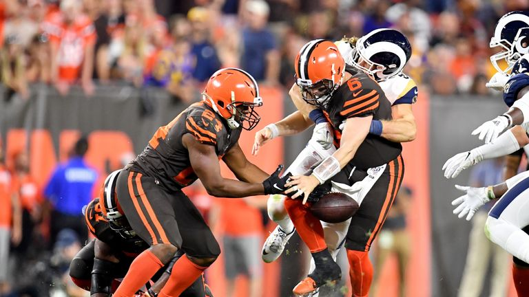 Baker Mayfield and the Browns were kept quiet by an impressive Rams defence