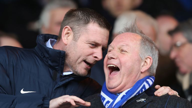 Peterborough chairman Darragh MacAnthony and director of football Barry Fry are both keen to keep Maddison at the ABAX Stadium beyond this season