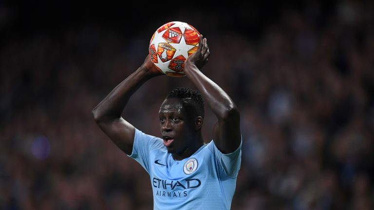 Mendy played 15 games for City in all competitions last season