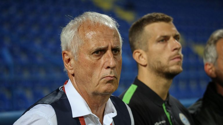 Kosovo are unbeaten since Challandes took over as manager in February 2018