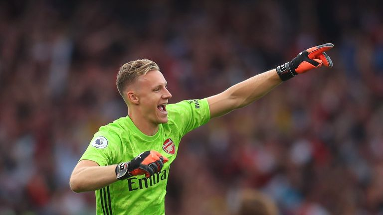Bernd Leno is confident Arsenal will improve this season due to the club's attacking options