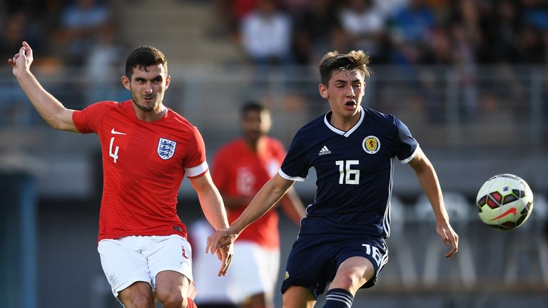 The 18-year-old will be keen to make the step up to Scotland at senior level
