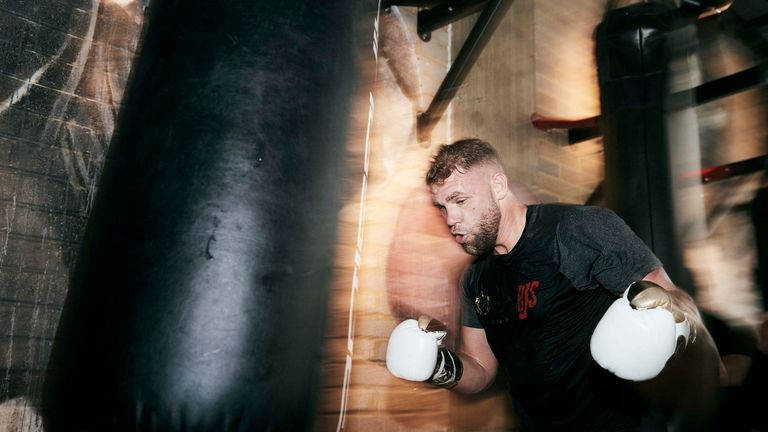 Saunders is a two-weight world champion
