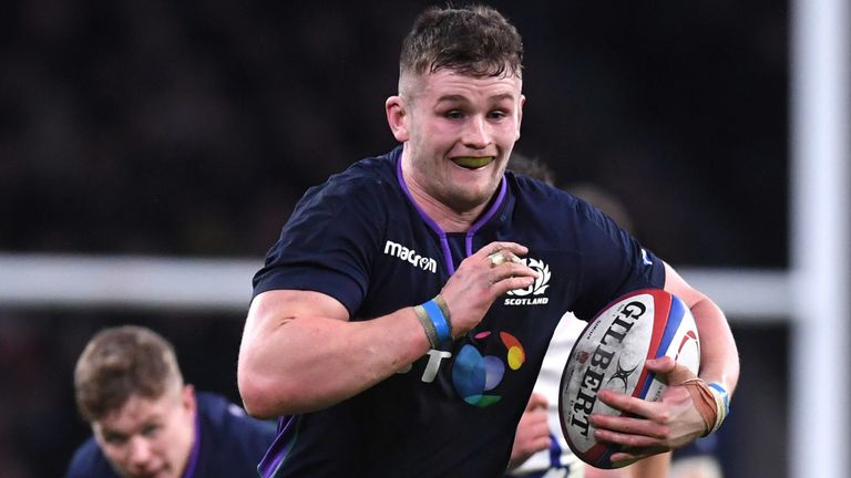 Magnus Bradbury took part in Scotland's Six Nations campaign earlier this year