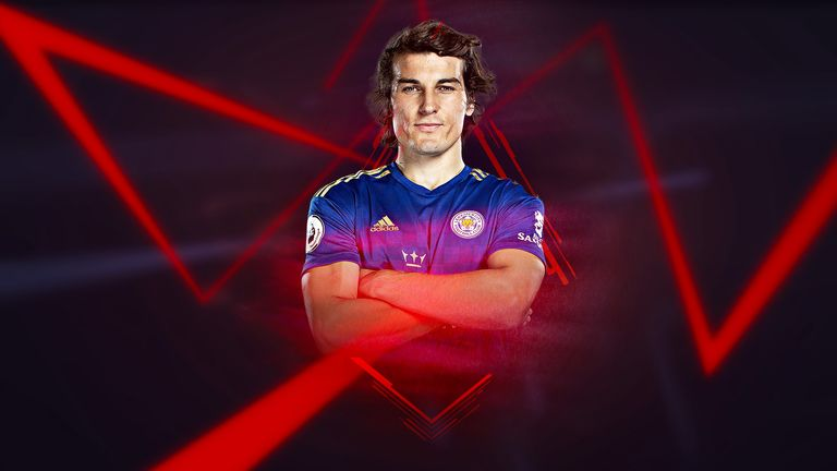 Caglar Soyuncu has eased the hole that was left by Harry Maguire