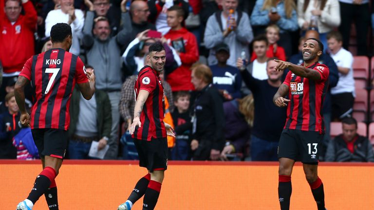 Wilson has scored five goals for Bournemouth at the start of the new season