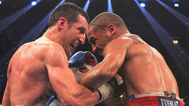 Froch endured a frustrating points defeat to Ward at Atlantic City in 2011