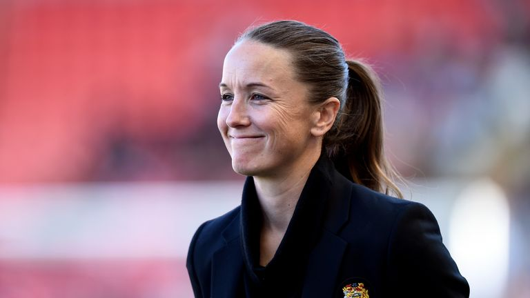 Casey Stoney says she is 'extremely proud' to work at Manchester United
