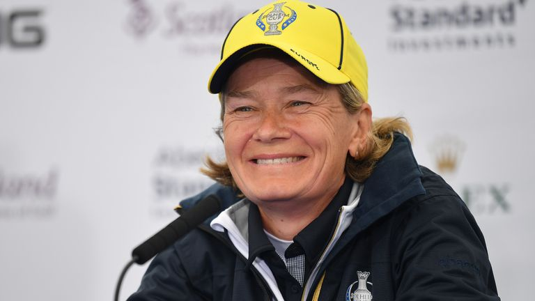 Matthew appeared in four winning Solheim Cup teams as a player
